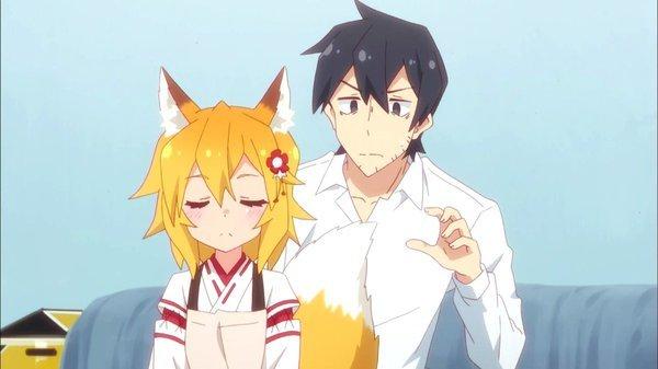 世話やきキツネの仙狐さん 第1話
