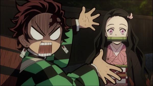 鬼滅の刃 第8話 感想:かわいい禰豆子ちゃんへの暴言を撤回させ